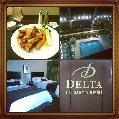 Delta Hotels Calgary Airport In-Terminal: Quite Rooms, Great Service