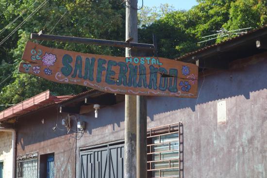Meson de San Fernando: Sign