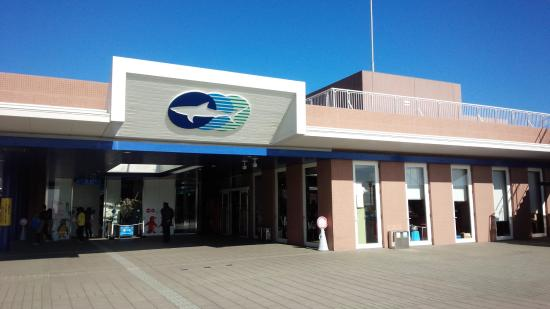 アクアワールド大洗外観 - Photo de Aqua World Ibaraki Prefectural Oarai Aquarium, Oarai-m...
