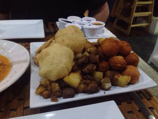 Restaurante Sabores : Appetizer sampler for two