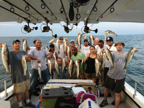Katherine 39 s charter fishing picture of katherines for Chesapeake beach fishing charters