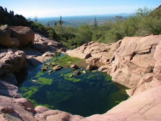 Hieroglyphic Canyon Trail: Views from the trail