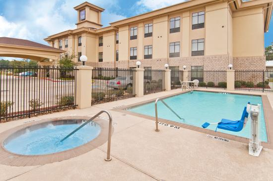 Sleep Inn & Suites Bush Intercontinental Airport IAH East: OUT DOOR HOT TUB