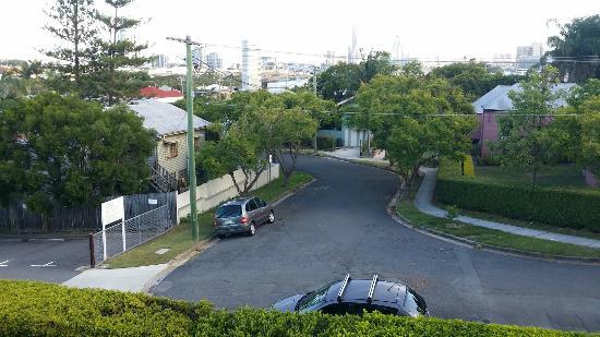 Brisbane International - Windsor: Quiet leafy streets near by.