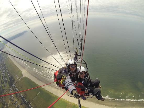 Tandem flight with Discover Paragliding