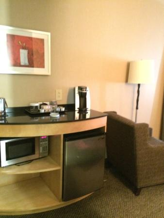 DoubleTree by Hilton Hotel Savannah Airport: Living Area