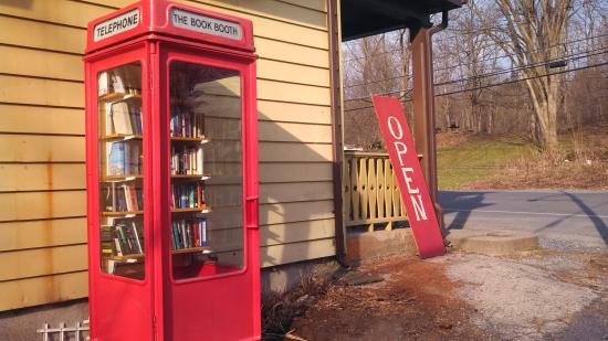 Clinton Corners, Estado de Nueva York: The Book Booth