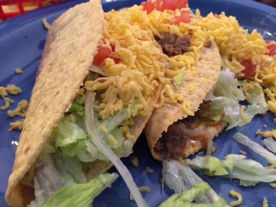 Margaritas Mexican Restaurant: Crispy Beef Tacos