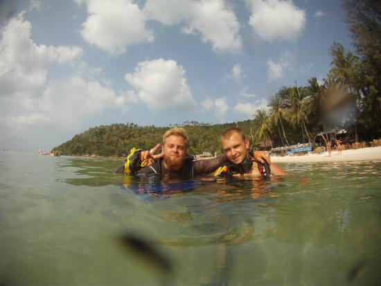 Phangan International Diving School: with Jared