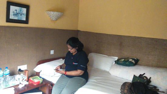 Maruni Sanctuary Lodge : Checking wifi connectivity