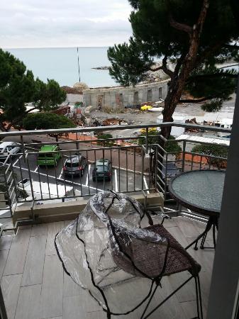 Hotel Sole Mare: Le balcon