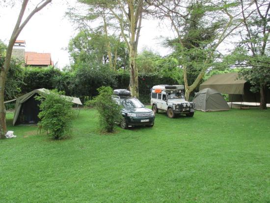 Wildebeest Eco Camp: Territory