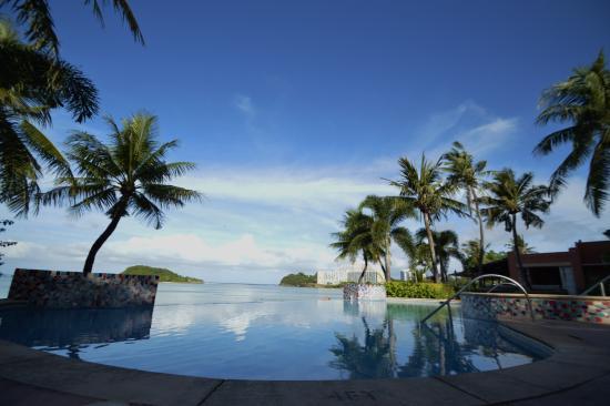 Hotel Santa Fe Guam: ホテルのプール