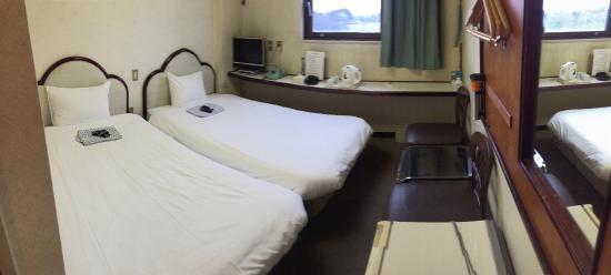 Heiwadai Hotel Otemon: ツインルーム