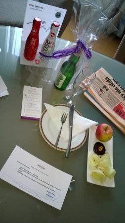 Hotel Mercure Lublin Centrum: prezent na powitanie