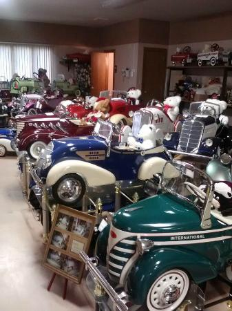 Seiverling Museum, LLC Car and Pedal Car Museum: Pedals Cars from all years and most manufacturers.