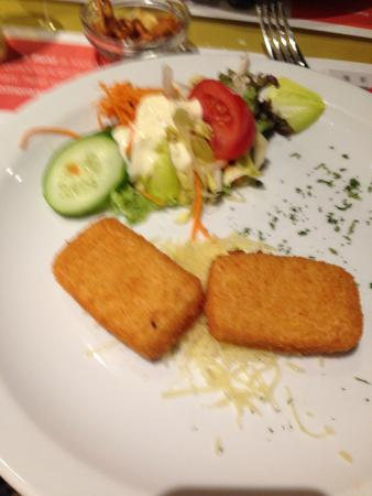 Singe D'Or: Really poor Cheese Croquettes :-(