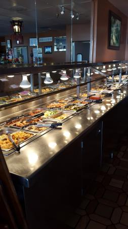 Lunch Buffet Table From 11 00 Am To 2 00 Pm Every Day