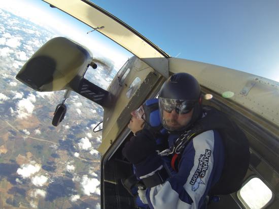 Skydive Spain: Momento del salto!