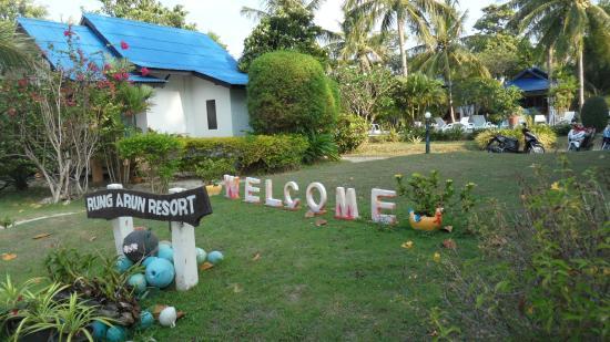 Rung Arun Resort : une des vues du resort