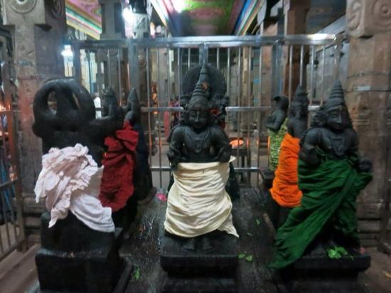 Swamimalai, Indie: Navagraha, the Nine Planets Temple