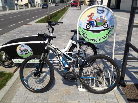 E-Bike-Verleih-Bogen Rent a Bike for wheelchair users