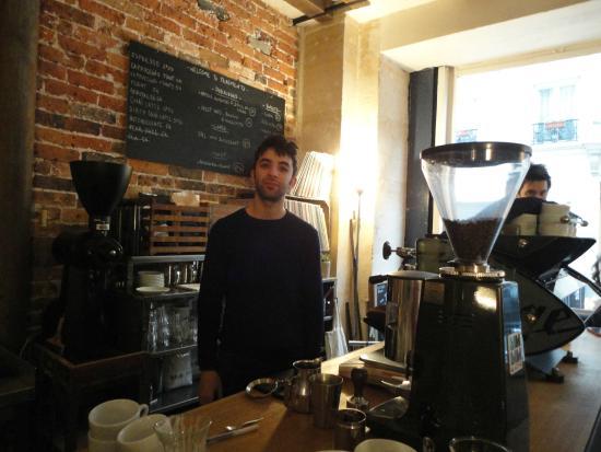 Photo of Cafe Fragments Paris at 76 Rue Des Tournelles, Paris 75003, France