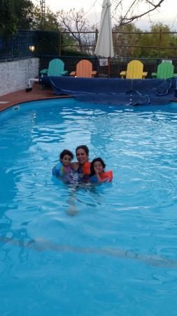 Villa Tehila: הבריכה
