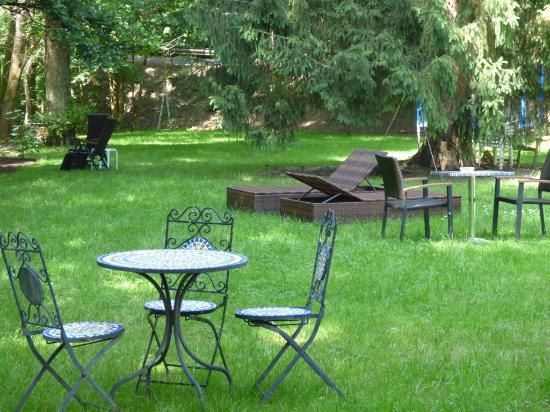 Wald Villa Ussbach Garten Mit Liegen Picture Of Wald Villa