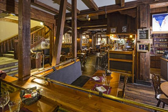 Hotel Kandahar: Restaurant La Taverne d'Alsace