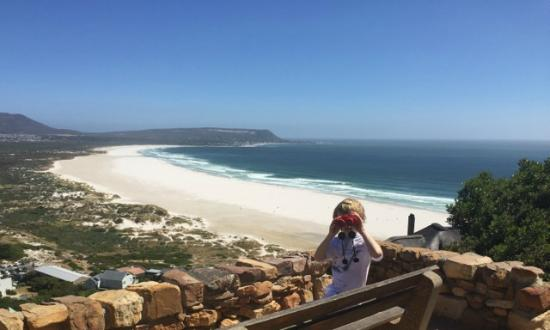 Noordhoek Beach from Chapmans Peak drive