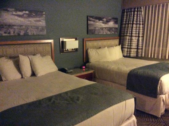 good job the beds were comfy