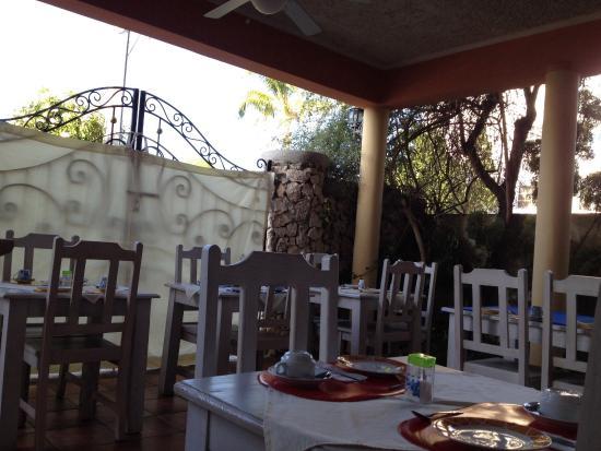 Hotel Villa Iguana: Preparazione della colazione