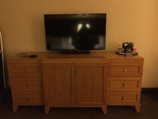 Ameristar Casino Hotel Vicksburg : Part of the room