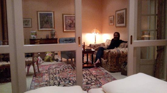 Hotel Residenz am Rosengarten & Villa Residenz : вид из спальни