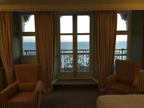 The Grand Brighton : View from our room