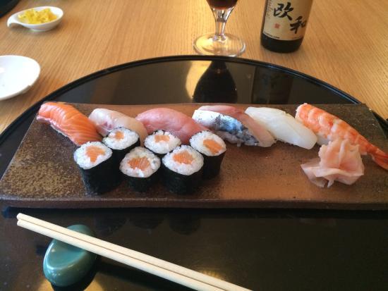 Kamo: Assortiment sushi !