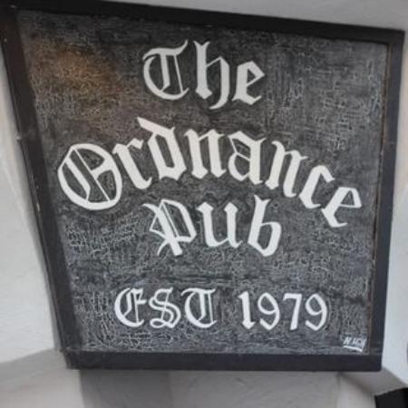 The Ordnance Pub: Perfect little find
