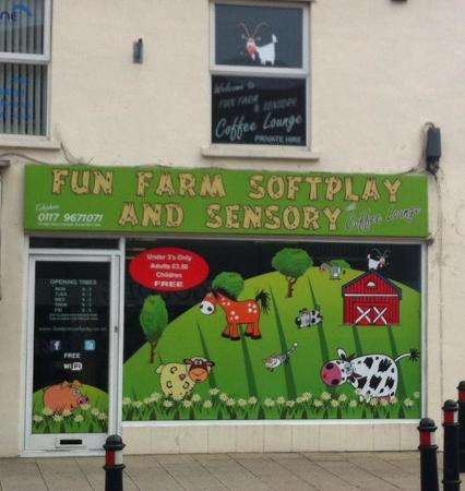Hanham, UK: The Fun Farm