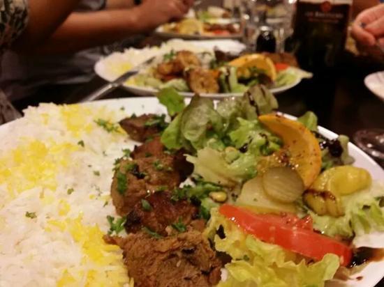 Payiz: Assiette agneau
