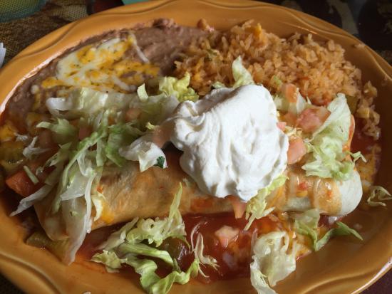 Rancho Chico: Fajita Burrito