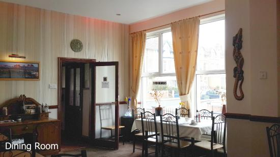 White Heather Hotel: Dining Room