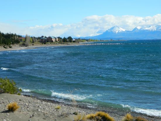 Antigua Patagonia: Ubicación sobre el Lago Buenos Aires