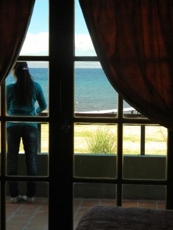 Antigua Patagonia: Vista desde la habitación planta baja