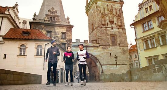 Running Tours Prague: Copying oute of the main Prague marathon
