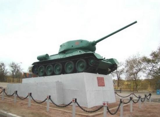 Balkhash, Kazakstan: Памятник