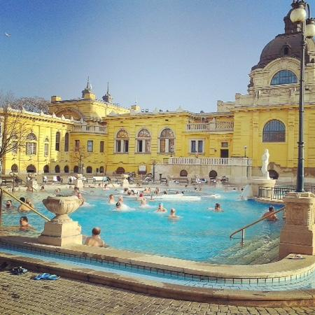 bagni budapest - Picture of Szechenyi Baths and Pool, Budapest ...