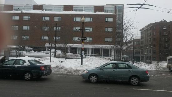 Harvard Square Hotel : Fachada
