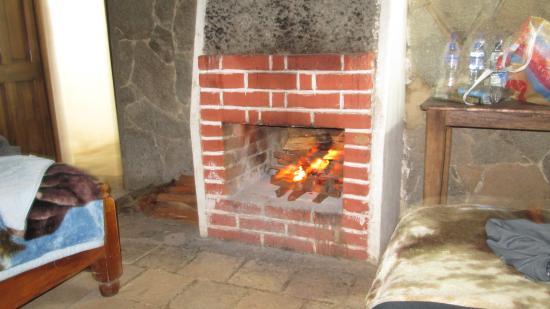 Zunil, Guatemala: Fireplace