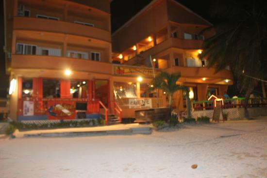 Spindrift Hotel: from the beach